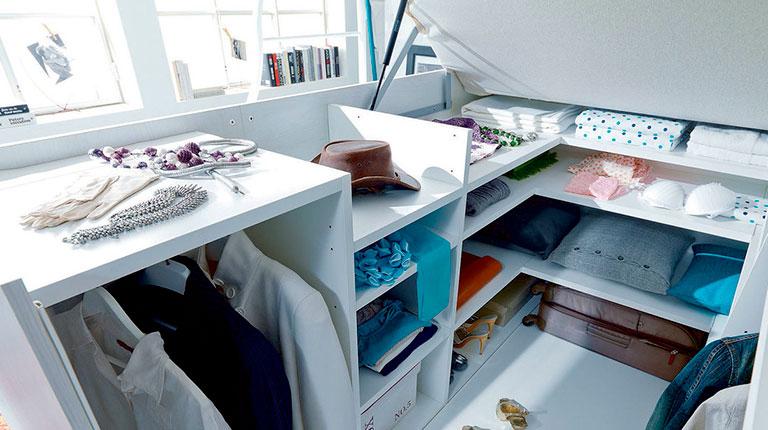 Где хранить вещи в маленькой квартире