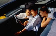Знакомство на курсах по вождению