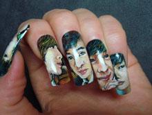 Фото на ногтях