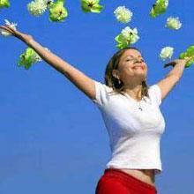 Успешная и счастливая женщина