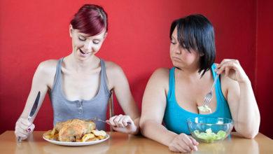 Заблуждения при похудении