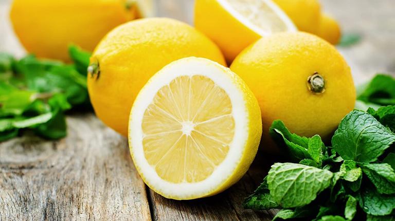 Лимон в косметических средствах