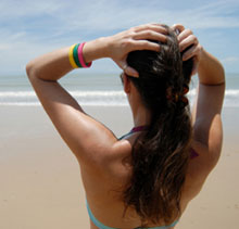 Защита и ход за волосами на юге