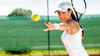 Теннис для красивой фигуры