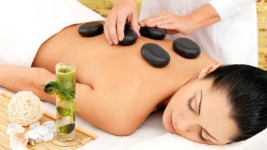 стоунтерапия - массаж горячими камнями