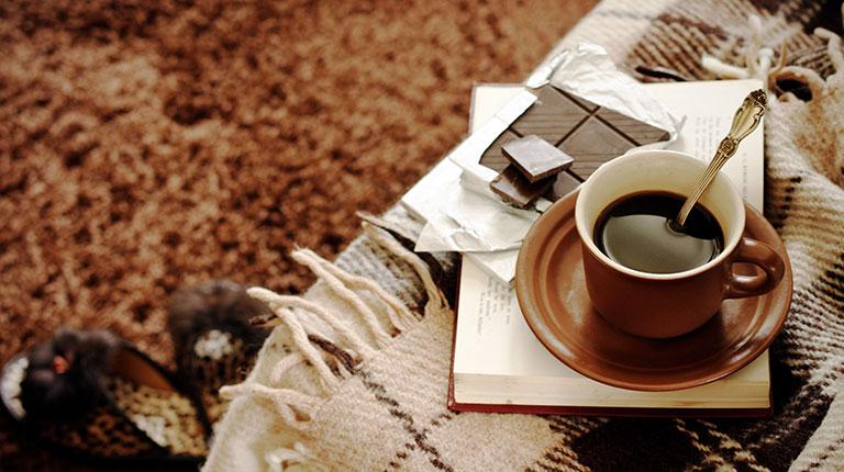 Чашка чая и плед