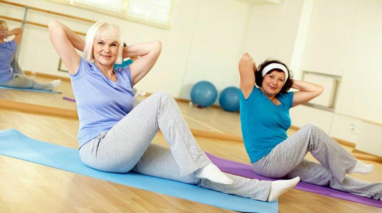 Гимнастика для женщин среднего возраста
