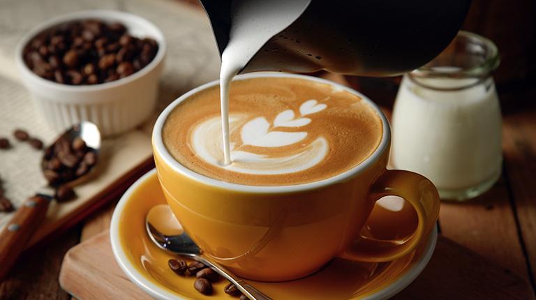 Ты любишь кофе со сливками
