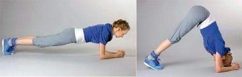 Упражнение «планка» для мышц груди