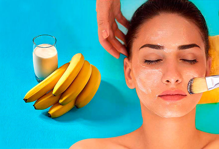 Рецепт маски из бананов