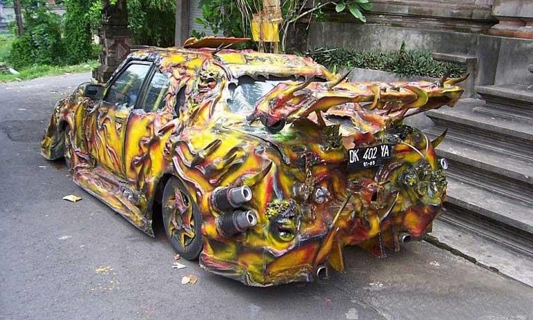 Внешний тюнинг кузова автомобиля