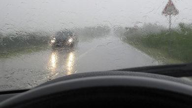 Безопасное движение в дождь и туман