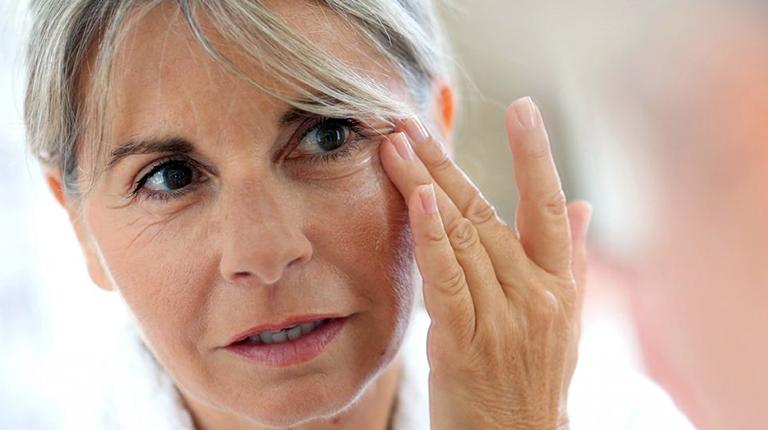 Макияж для мелкоморщинистого типа старения лица