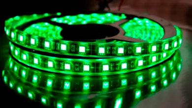 Как сделать в подсветку светодиодной лентой