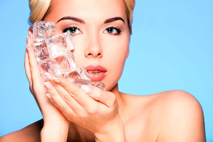 Лед для красоты и молодости лица