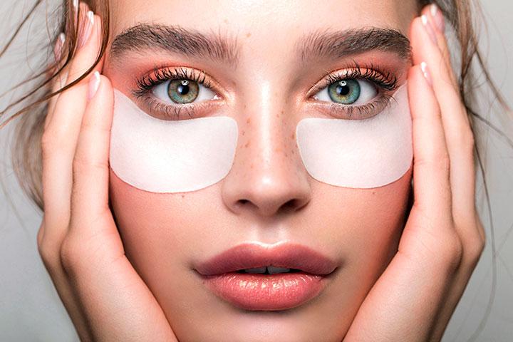 Маска патч для кожи вокруг глаз